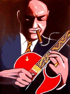Joe Pass Cartoon