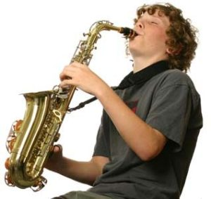 Playing-Sax