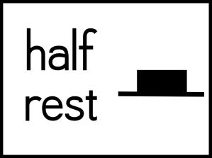 half rest box